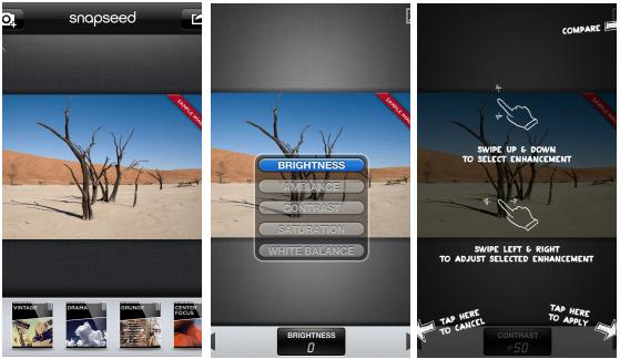 smartphone camera apps